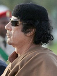 Muammar Qadaffi