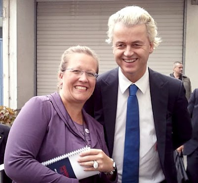 Elisabeth Sabaditsch-Wolff and Geert Wilders