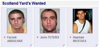 Scotland Yard's Wanted #4