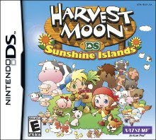 harvest moon sunshine islands
