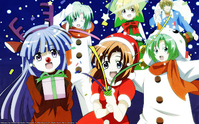 higurashi christmas wallpaper