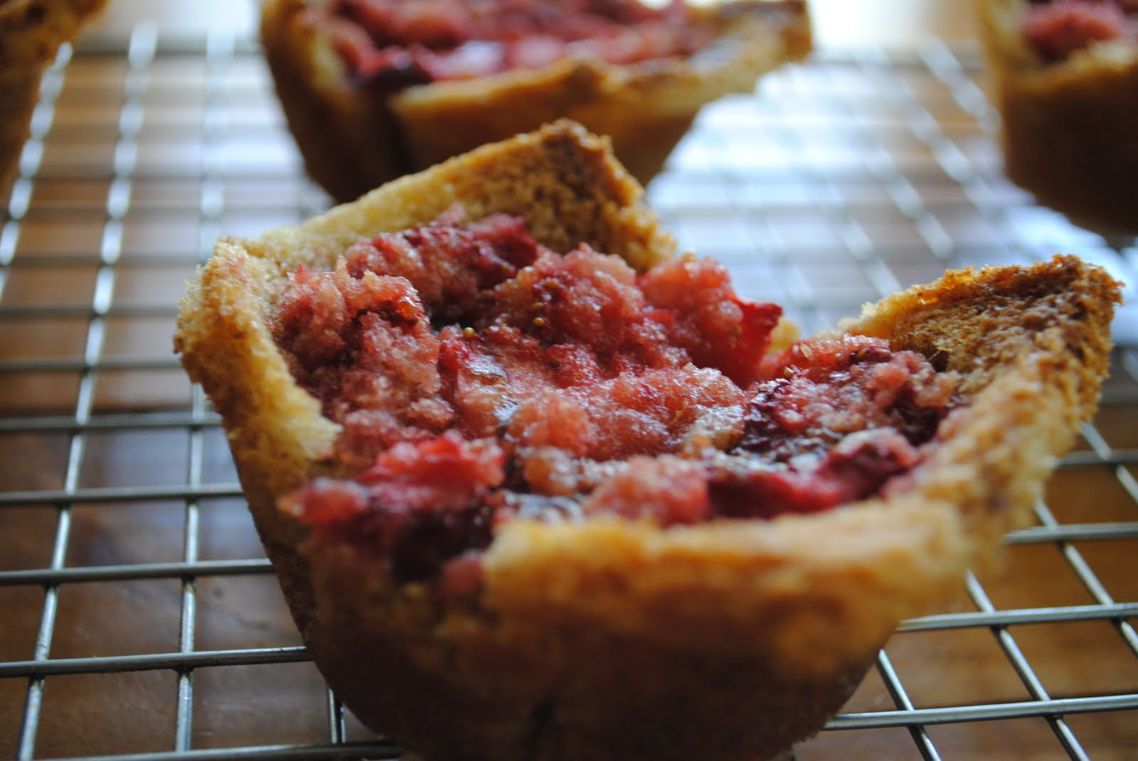 Savory Saute: Vanilla Scented Strawberry Brown Butter Bettys