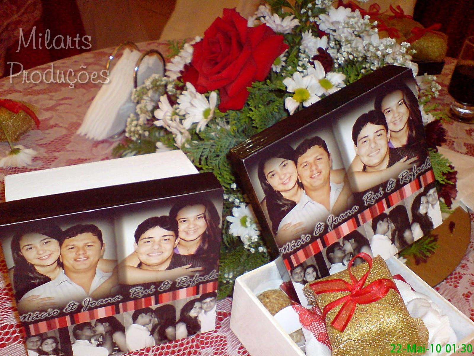 : Lembrança de casamento: Caixa de madeira personalizada com fotos #AB2120 1600x1200