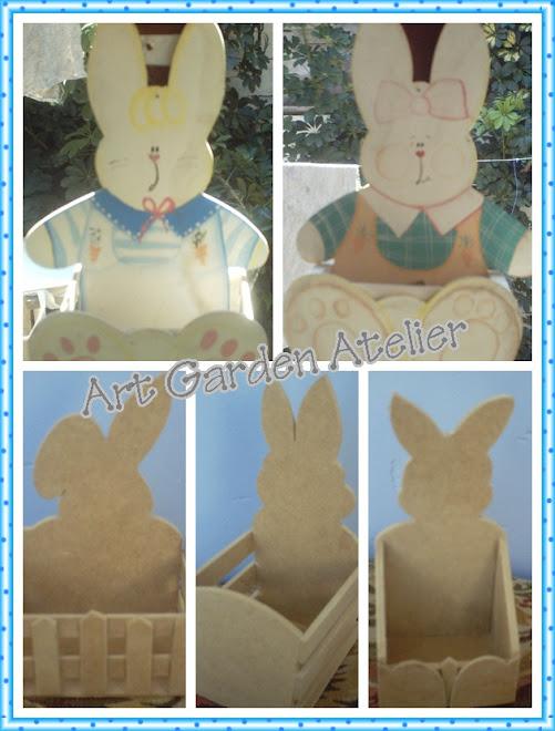 cachepot coelho