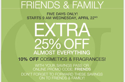 Lord & Taylor Friends and Family
