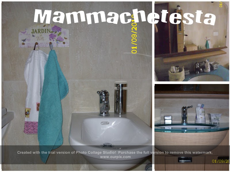 Il bagno delle femmine mammachetesta for Porta asciugamani ikea