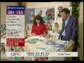 Andrea Webster QVC demonstration VIDEO of Webster's Punch Needle Embroidery on You Tube