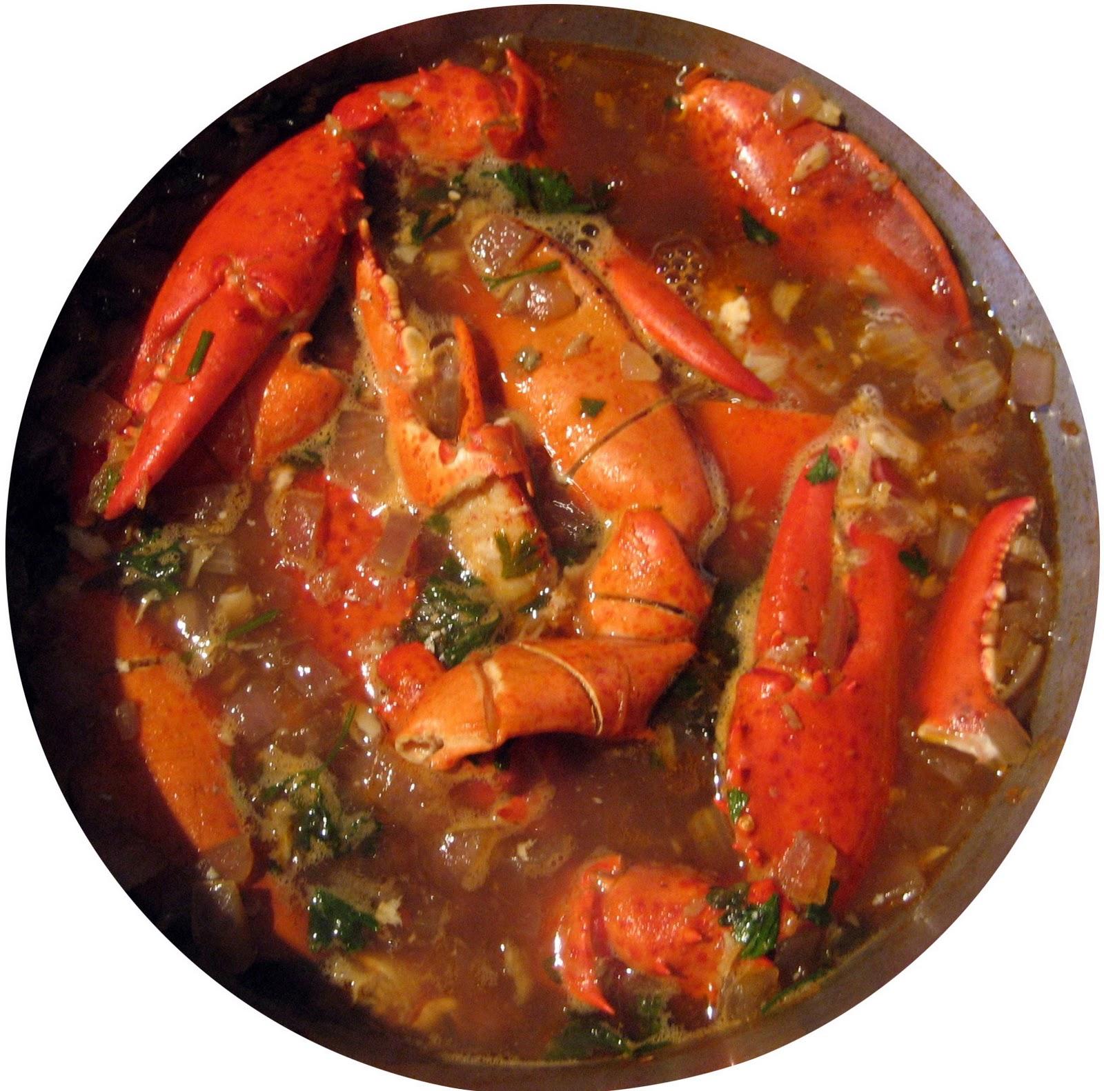 Lobster, Creole Style: Enchilado de Langosta Recipe | Food ...