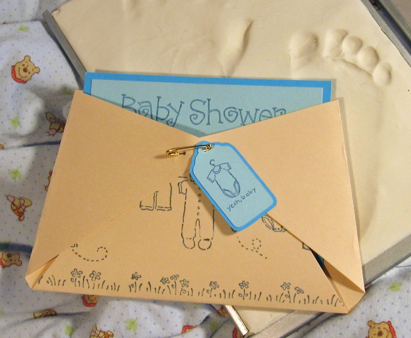 DIY kinda girl: Baby shower invites