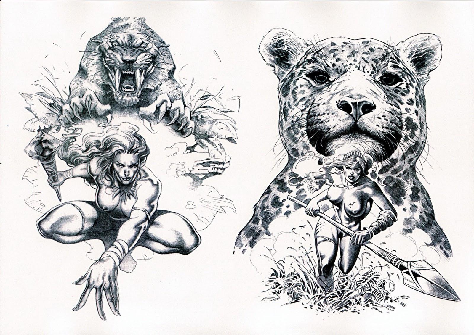 Animal Tattoo Art Www Miifotos Com