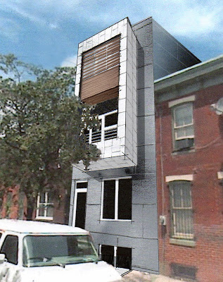 Commercial Building Facade