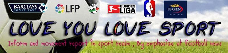 LOVE  YOU  LOVE  SPORT