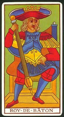 El Rey de bastos y su mensaje de valor en la baraja del tarot