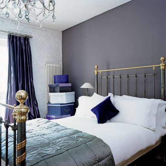 Blue and Gray Bedroom Designs 550 x 550