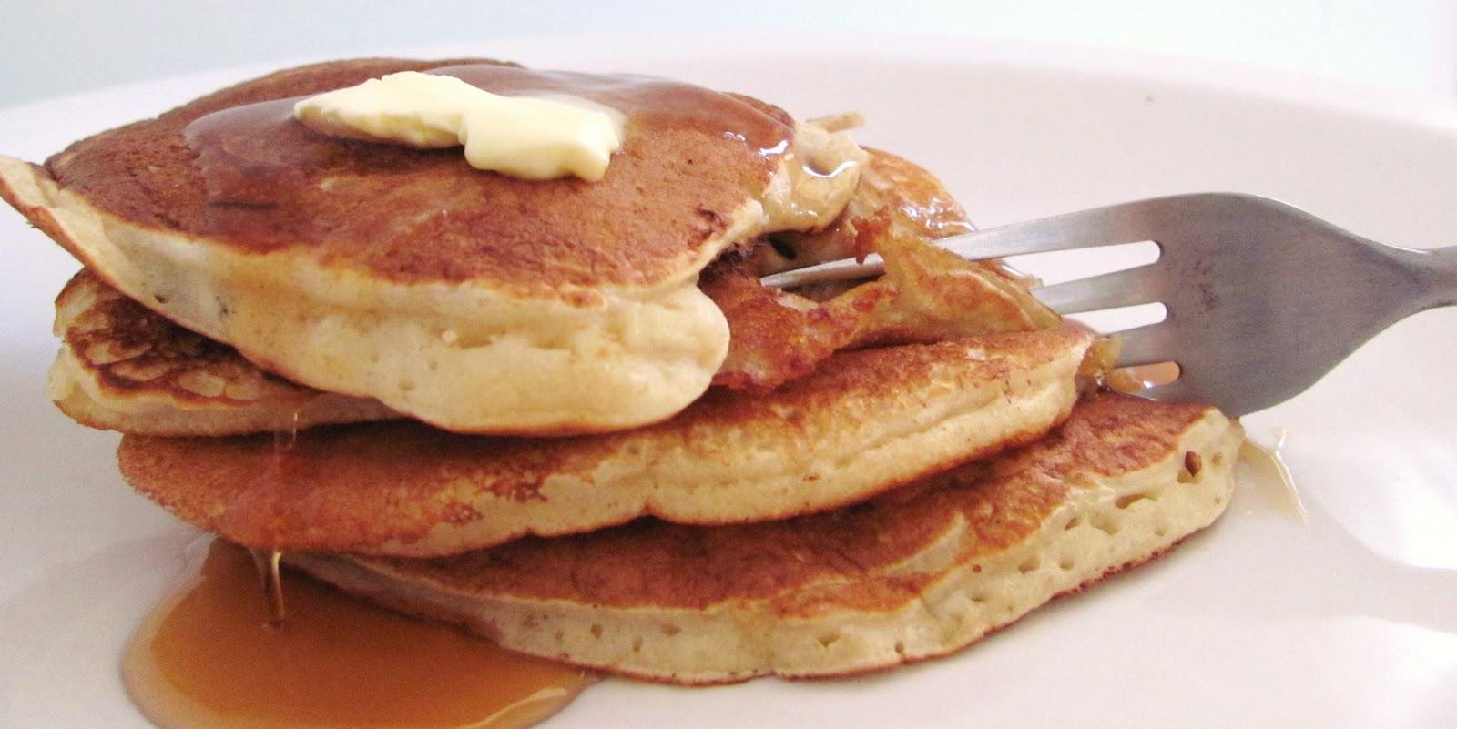 Caramel & Sea Salt Pear Pancakes Recipes — Dishmaps