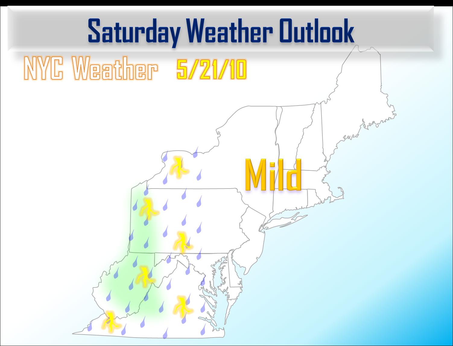 May 21 Rain Chance Returns Sunday NYC Area Weather
