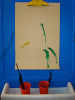 Feathers At the Easel