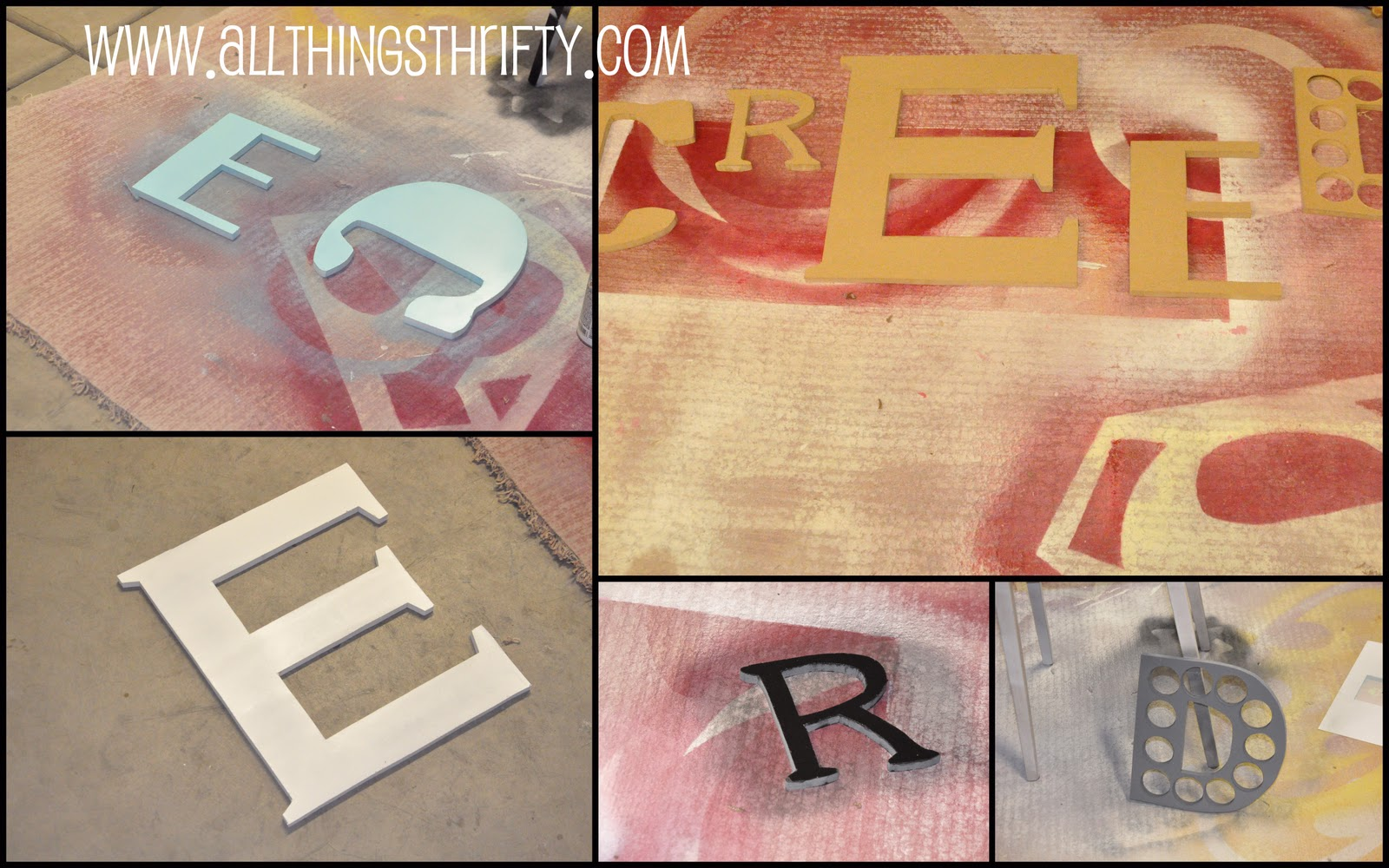 nursery decorating ideas part 6 wooden letters