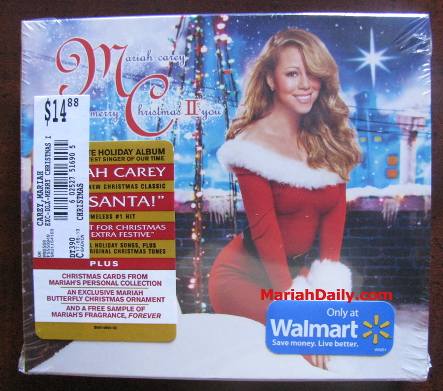 Mariah carey merry christmas ii you 2017 doh