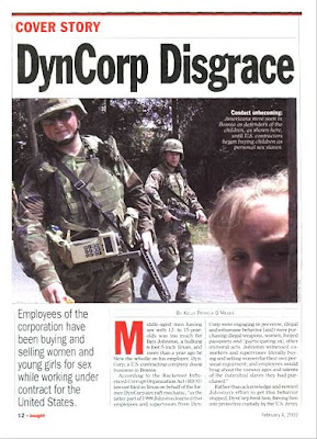 Dyncorp Video Tapes Politicians F*cking Children During Junkets