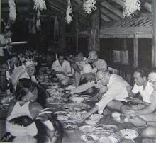 Berawan Chief, Penghulu Lawai Of Long Teru, Tinjar, Baram