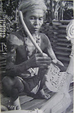 The Dayak Iban Craftman