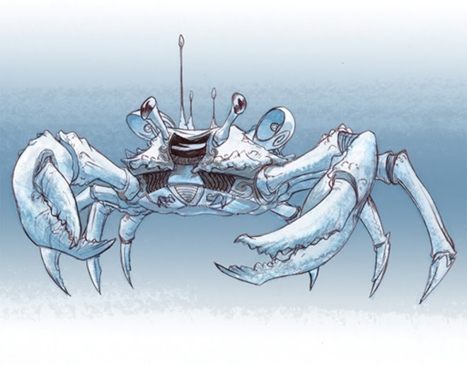 Crab Walker Vehicle Concept