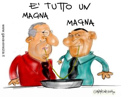 Berlusconi Lilli Veltroni Gava satira