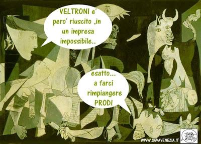 Prodi Gava satira vignette
