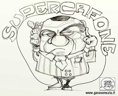 Berlusconi telefonino Gava satira gavavenezia gavavenezia.it