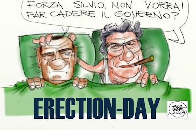Berlusconi Bossi Gava satira gavavenezia.it gavavenezia