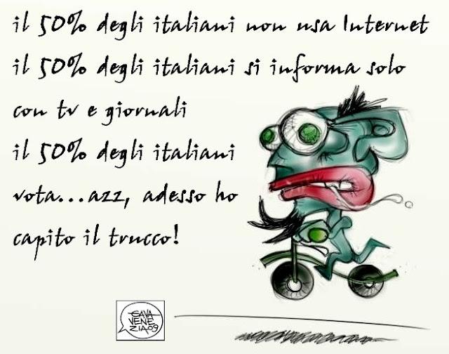 Gava Satira Vignette televisione informazione internet