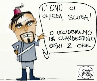 La Russa Gava satira vignette