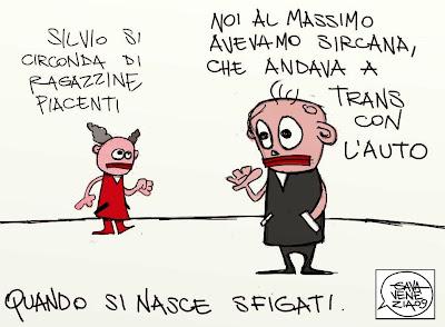 Gava Satira gavavenezia gavavenezia.it Berlusconi Sircana