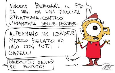 Gava Satira Vignette Bersani PD