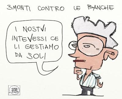 Gava Satira Vignette Tremonti, interessi