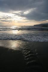 Playa de El zapillo (Almeria)