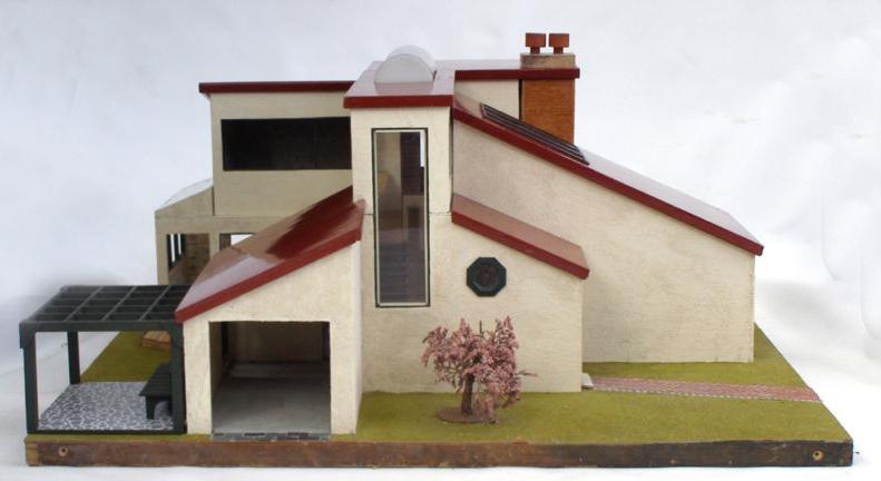 Dream Dollhouses Vintage Mini Modern Dollhouse On Ebay