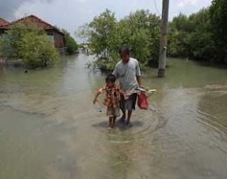 korban banjir kabupaten indramayu