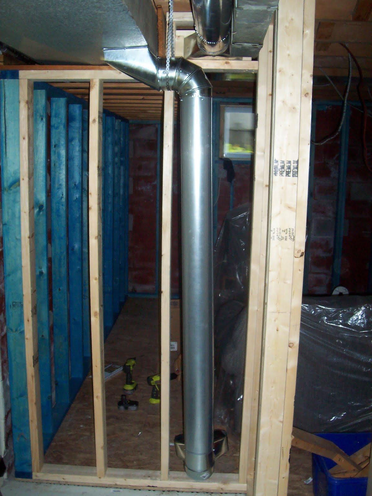 our basement renovation more hvac