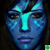 Navi of Avatar in the Color of Shiva