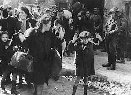 Wysiedlane z warszawskiego getta