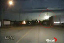 Meteor over Canada