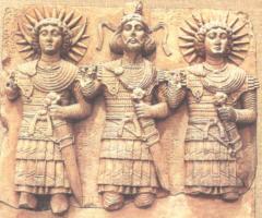 Bog slonce w Trojcy