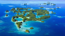 Garden of God Palau Islands