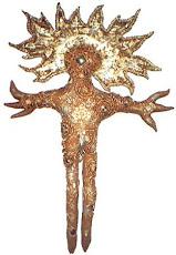 Tayau Huichol Sun god