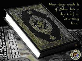 Palestynski Koran ze swastyka