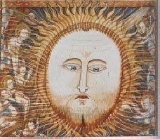 Chrystus-slonce w srodku swiata