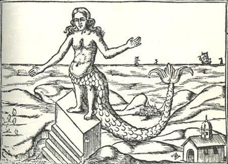 Atargatis, Syrian goddess born out of the Ocean of Ether