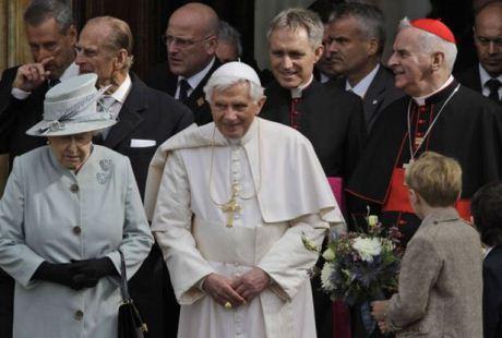 Benedykt XVI w Wielkiej Brytanii